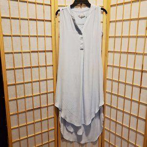 Cabi Womens Two Piece High Low Tank Dress Sz S